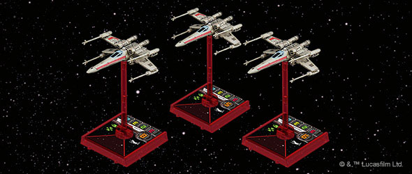 Red Leader Standing By Fantasy Flight Games