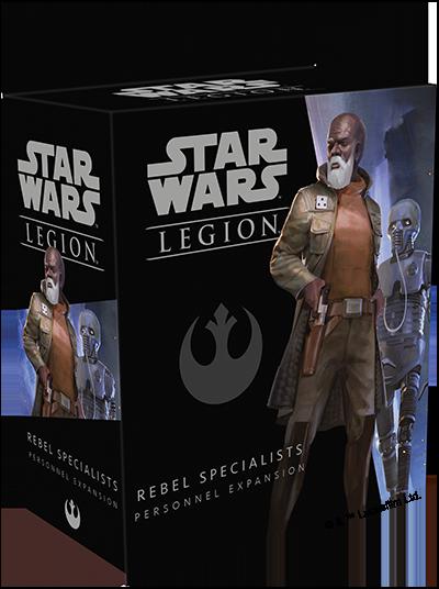 Star Wars: Legion - Rebel Specialists