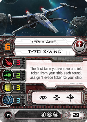 Red Ace X-Wing