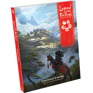 Emerald Empire The Essential Guide to Rokugan: Legend of the Five Rings RPG  -  Fantasy Flight Games