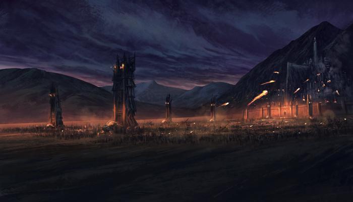 Battle of Pelennor Fields - LotR Strategy Game - Noble ...