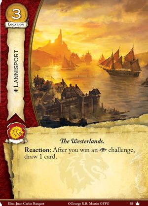[JCE/LCG] Le Trône de Fer/A Game of Thrones 2nd Edition - Page 4 Lannisport