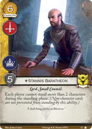 Spoils de la V2 Stannis-baratheon