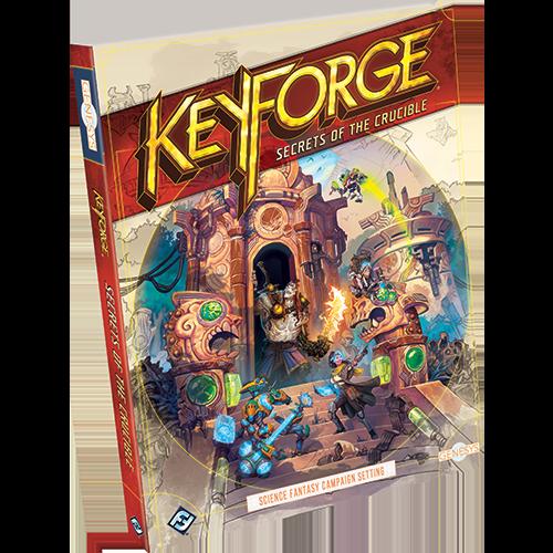 KeyForge: Secrets of the Crucible: Genesys RPG -  Fantasy Flight Games