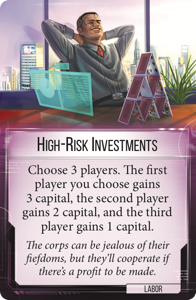 Investment options high risk