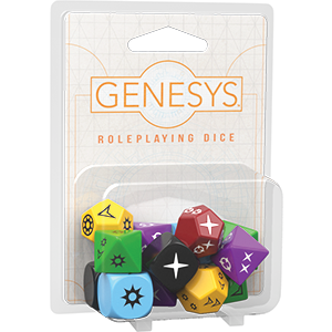 Genesys Roleplaying Dice -  Fantasy Flight Games