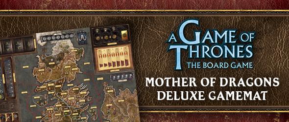 Mother Of Dragons Deluxe Gamemat Fantasy Flight Games