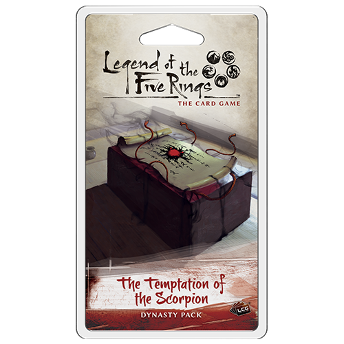 The Temptation of the Scorpion Dynasty Pack: L5R LCG -  Fantasy Flight Games
