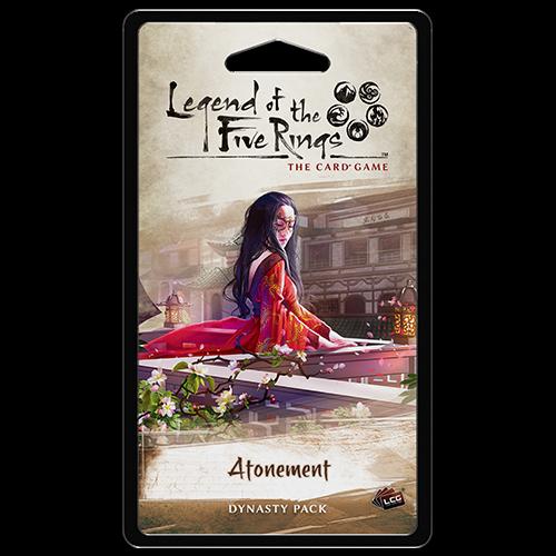 Atonement Dynasty Pack: L5R LCG -  Fantasy Flight Games