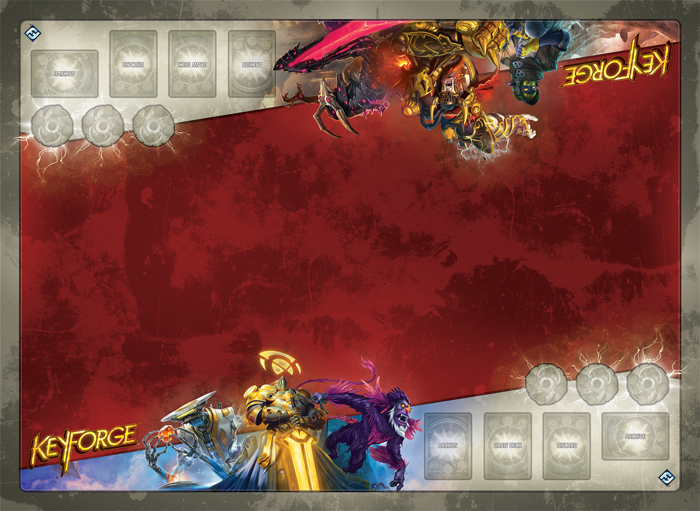 KeyForge Martian Madness Playmat Call of the Archons