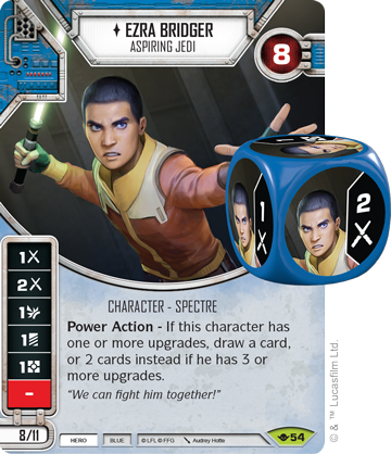 Star Wars Destiny: Kanan Jarrus Rebel Jedi Empire at War SW Fantasy Mint//NM