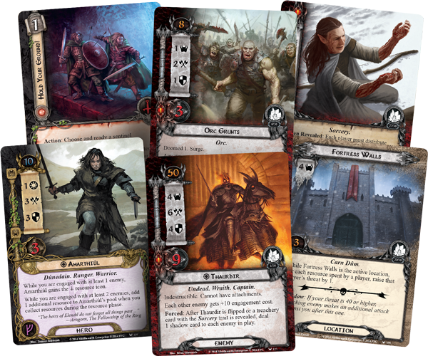 Lord of the Rings LCG The Battle of Carn Dum Adventure Pack