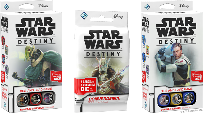Legacies Booster Packs Display Collectible Dice and Card Game Star Wars Destiny