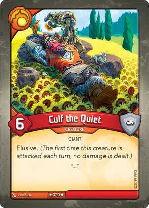 Card image for Culf the Quiet