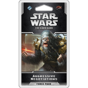 Aggressive Negotiations Force Pack: Star Wars LCG - Fantasy Flight Games