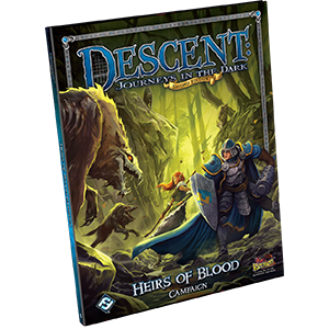 Descent: Heirs of Blood Campaign Book -  Fantasy Flight Games