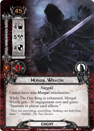[Extension de Saga] The Land of Shadow Morgul-wraith
