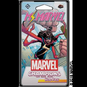 Marvel Champions: Ms. Marvel Hero Pack (T.O.S.) -  Fantasy Flight Games