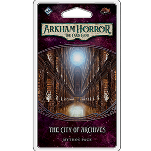 City of Archives Mythos Pack: Arkham Horror LCG -  Fantasy Flight Games