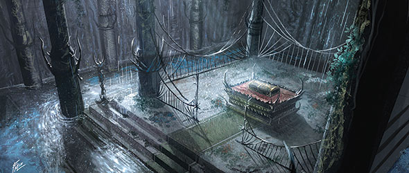 Image result for the drowned ruins lotr lcg art