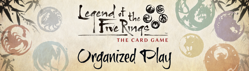 Bildergebnis für Legend of the Five Rings banner
