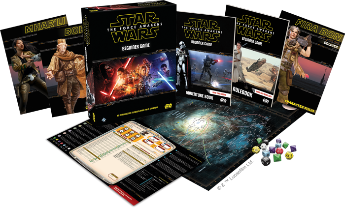 Star Wars: The Force Awakens Beginner Game