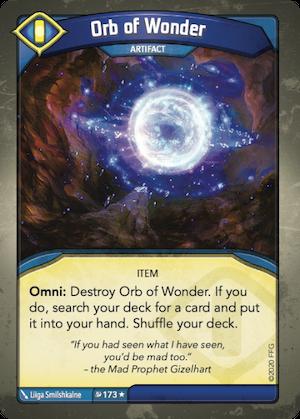kf09 orb of wonder EnGarde - Vaidmenų Žaidimai