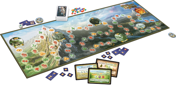 Image result for the hobbit the board game