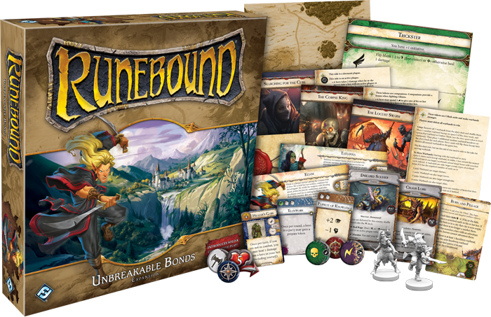 Runebound 3rd Edition: Unbreakable Bonds