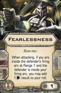 Furchtlosigkeit und Firespray Swx55-fearlessness