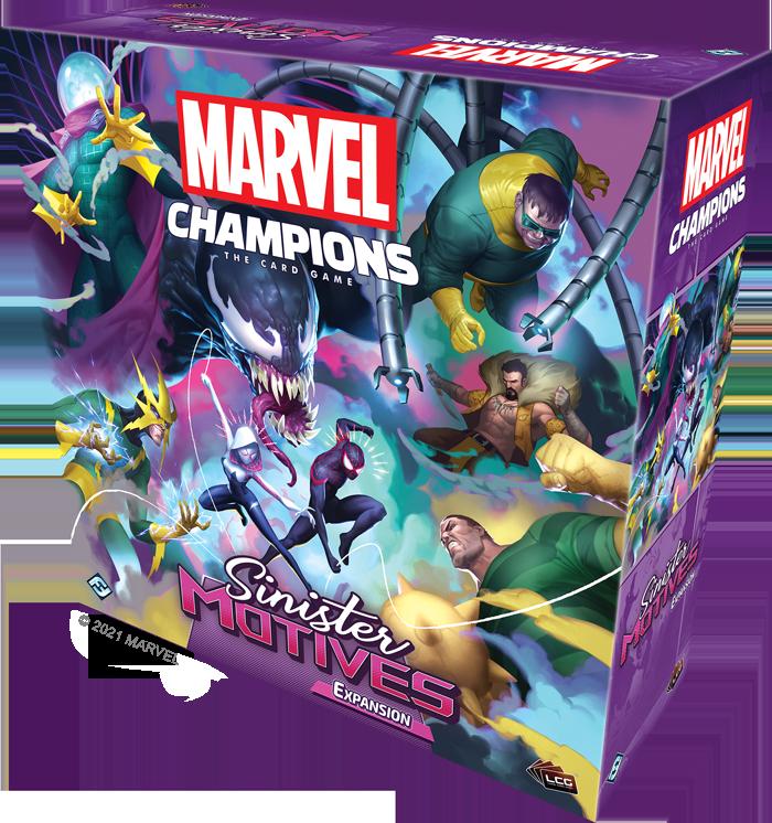 Fantasy Flight Games anuncio de Novedades Marvel Champions: The Card Game spider-man