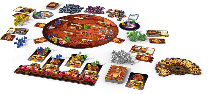 Mission Red Planet Fantasy Flight Games
