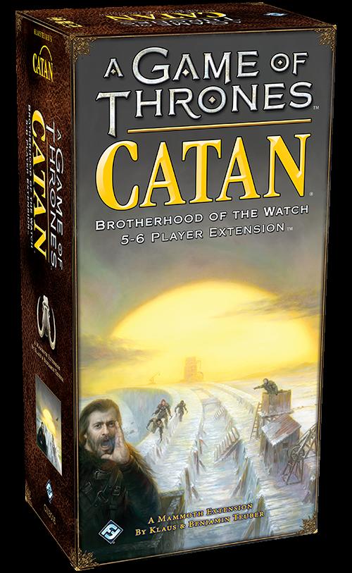 GoT Catan: Botherhood of the Watch
