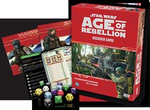 Star Wars: Age of Rebellion Beginner Game -  Fantasy Flight Games