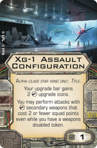 Bring on the Alpha Strike - Announcing the 12th Wave of X Swx69-xg-1-assault-configuration