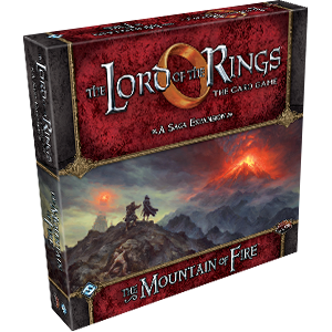 The Mountain of Fire Saga Expansion: LOTR LCG (T.O.S.) -  Fantasy Flight Games