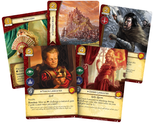 [JCE/LCG] Le Trône de Fer/A Game of Thrones 2nd Edition - Page 4 Gt01-lanister-card-fan