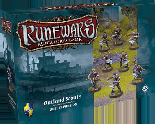 Runewars Miniatures: Outland Scouts