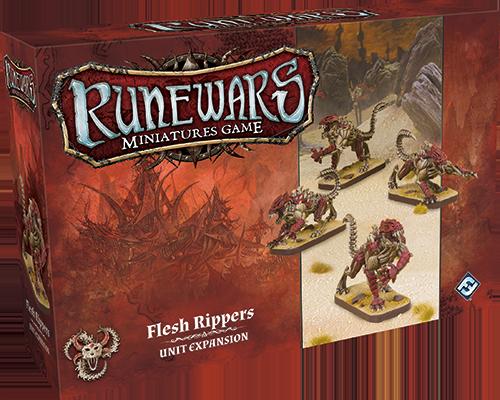 Runewars Miniatures: Flesh Rippers
