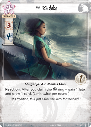 Breath of the Kami Dynasty Pack FFG Legend of the Five Rings LCG