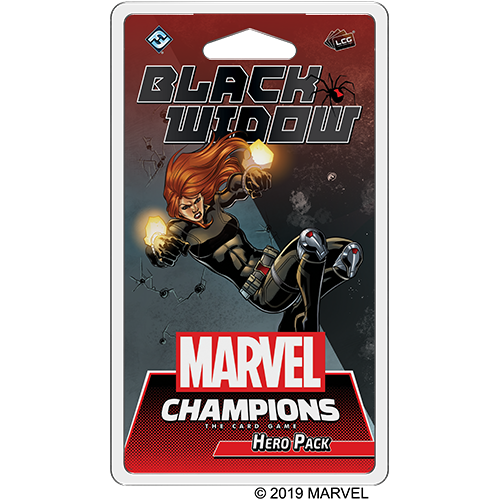 Black Widow Marvel Champions Hero Pack -  Fantasy Flight Games