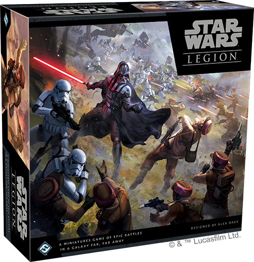 Get Started Painting Star Wars: Legion - Fantasy Flight Games