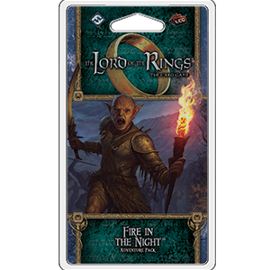 Fire in the Night: Adventure Pack Lord of the Rings LCG -  Fantasy Flight Games