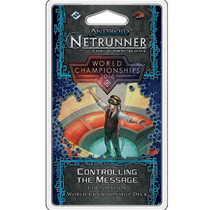 2016 World Championship Corp Deck: Netrunner LCG -  Fantasy Flight Games