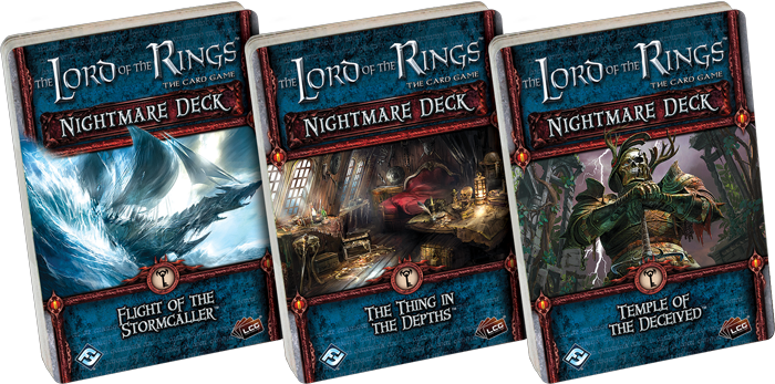 Lord of the Rings: New Nightmare Decks
