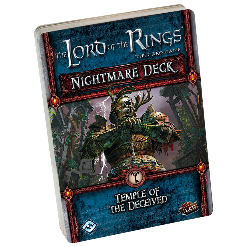 Temple of the Deceived Nightmare Deck: LOTR LCG -  Fantasy Flight Games