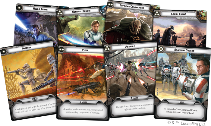 The Clone Wars Have Begun - Fantasy Flight Games