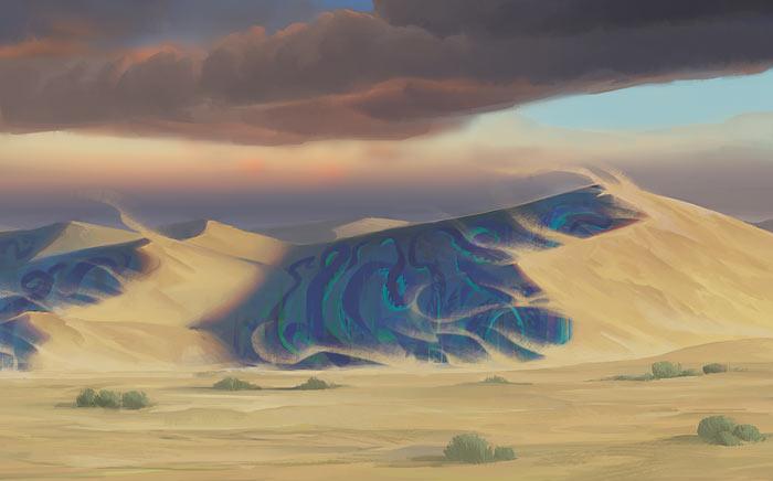 Vad som egentligen döljs bakom sanddynerna.