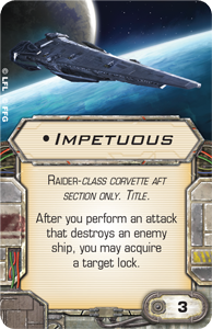 [Epic] IMPERIAL RAIDER  - NEWS !!! ONLY !!! Impetuous