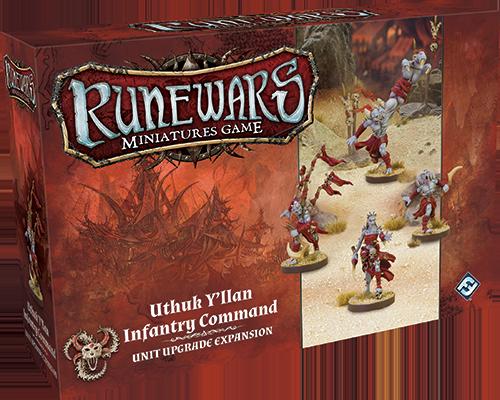 Runewars Miniatures: Uthuk Y'llan Infantry Command